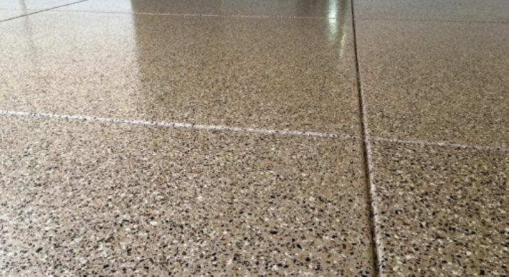 Epoxy Painted Garage Floors